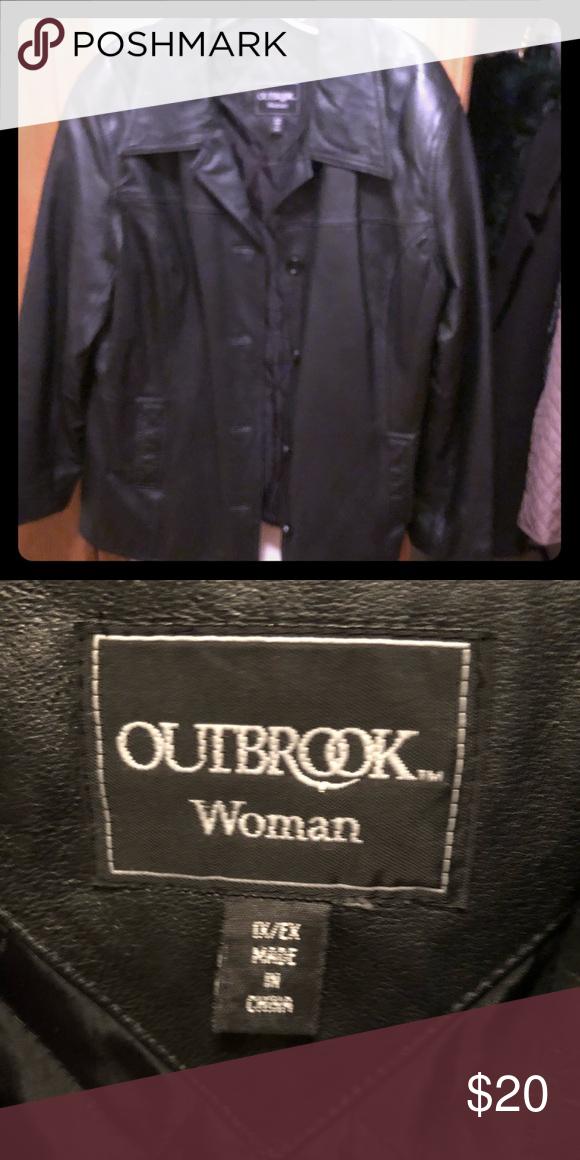 Outbrook leather jacket Outbrook leather jacket 1x Never worn