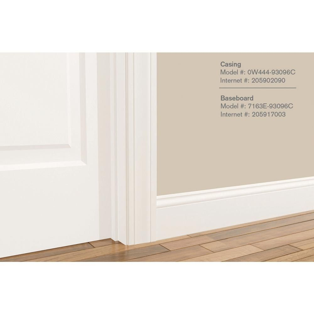 Alexandria Moulding L 163e 9 16 In X 5 1 4 In X 96 In Primed Mdf Base Moulding 7163e 9u096c The Home Depot Base Moulding Home The Home Depot