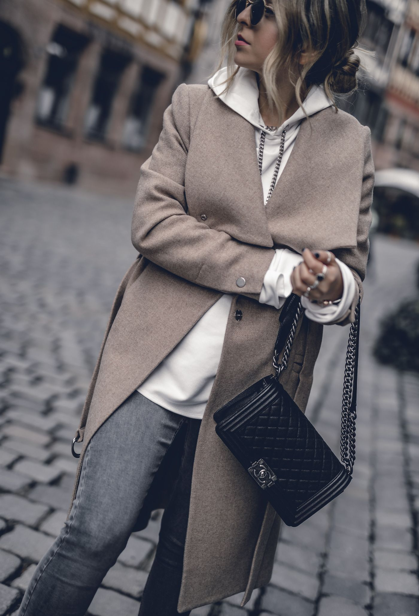 3 Cozy Fall Outfits to copy right now. Cozy Fall OutfitsEdgy OutfitsChanel  Boy BagCamel CoatBroken PromisesGirl ...