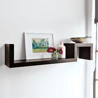 Metal Spine Wall Shelf