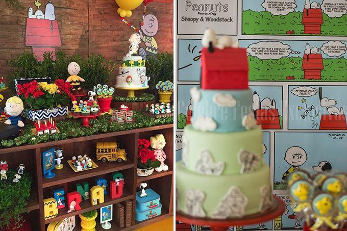 Ideias fofas para organizar uma festa em que o cachorrinho de Charlie Brown é a estrela
