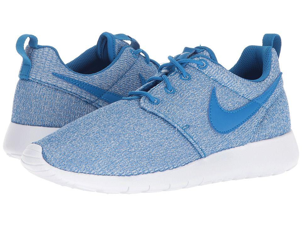new product 0fadf fe48a Nike Kids Roshe One (Big Kid) (Blue Nebula Blue Nebula White) Boys Shoes