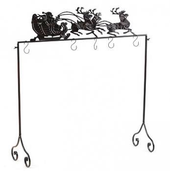 {Review} Kirklands Christmas Stocking Holder Stand