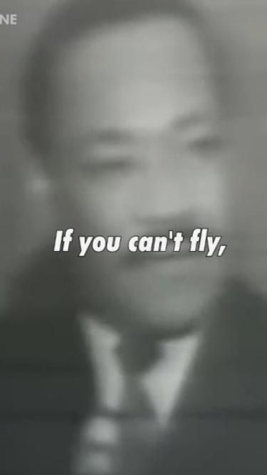 Life advice from Martin Luther King, Jr.
