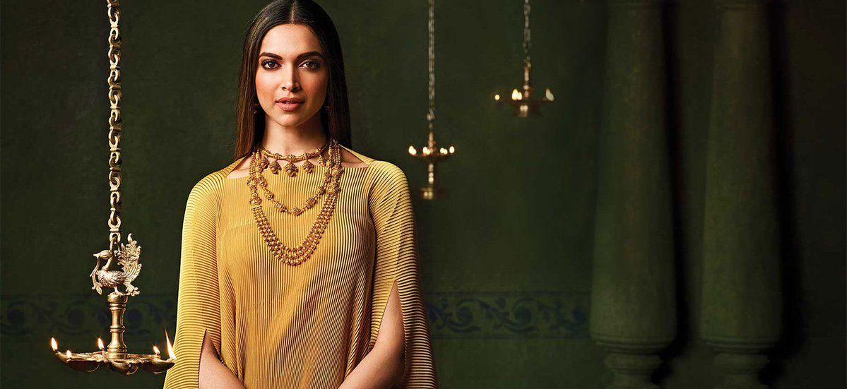 Deepika Padukone for Tanishq Jewelers | Tanishq jewellery ...
