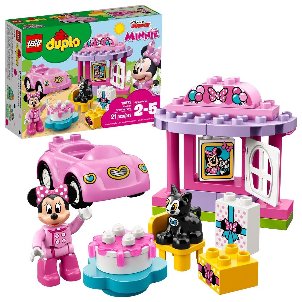 Minnie Mouse Characters Wooden Magnets 21 Piece Set Kids Toys Play Toddler New