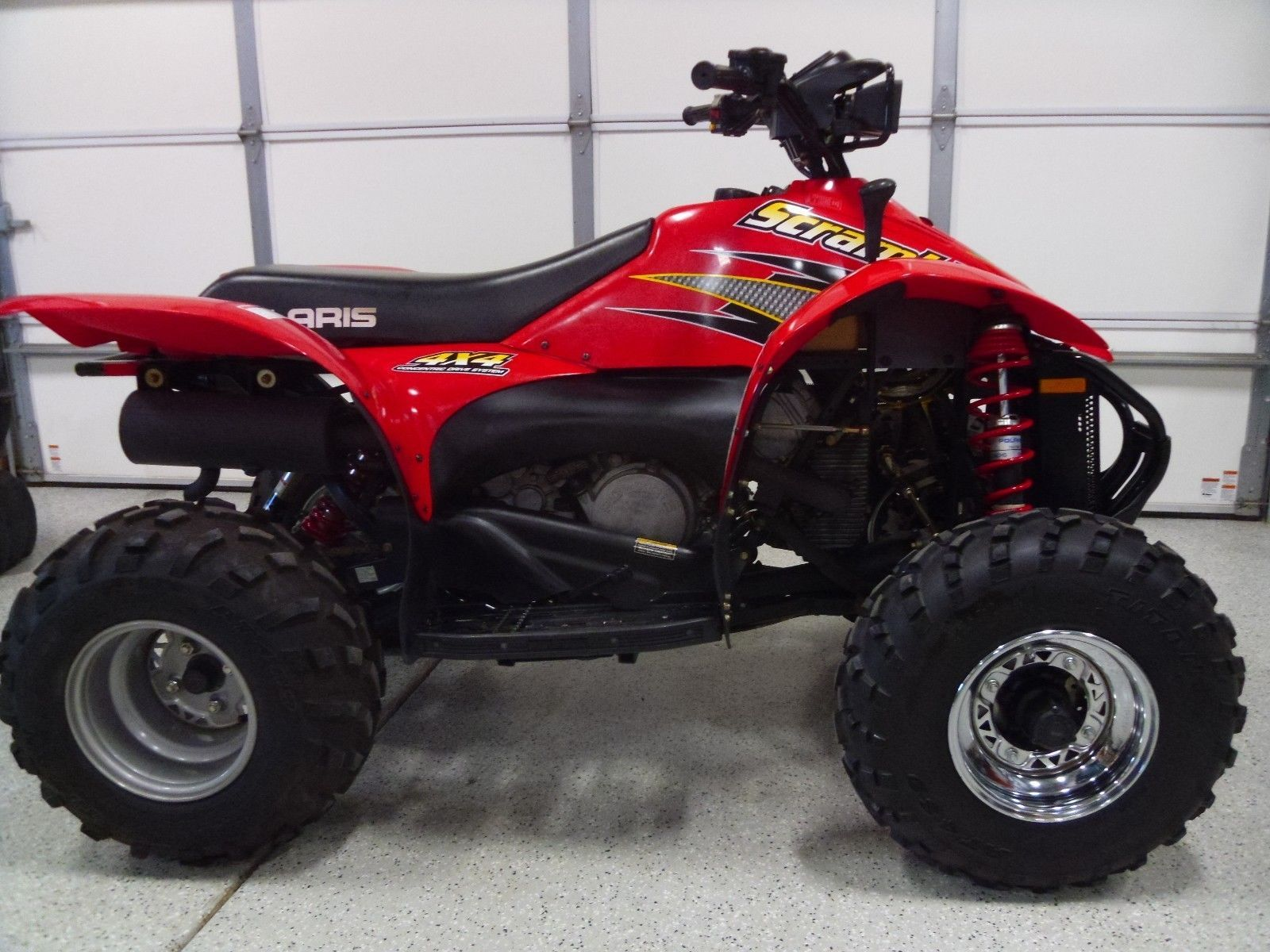 Atvs Offroad 2001 Polaris Scrambler 500 4 Stroke 4x4 4wd The
