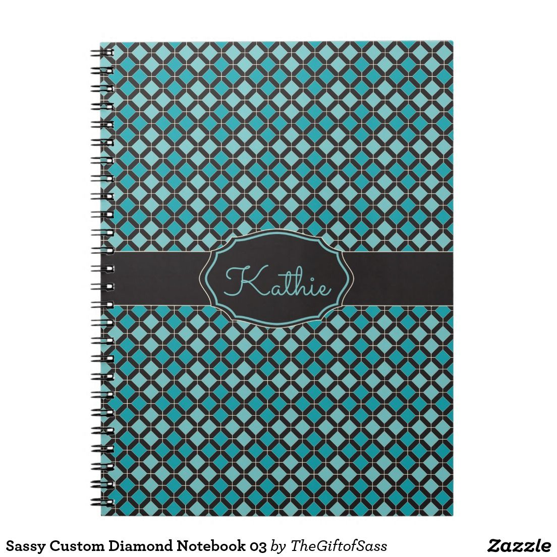 Sassy Custom Diamond Notebook 03