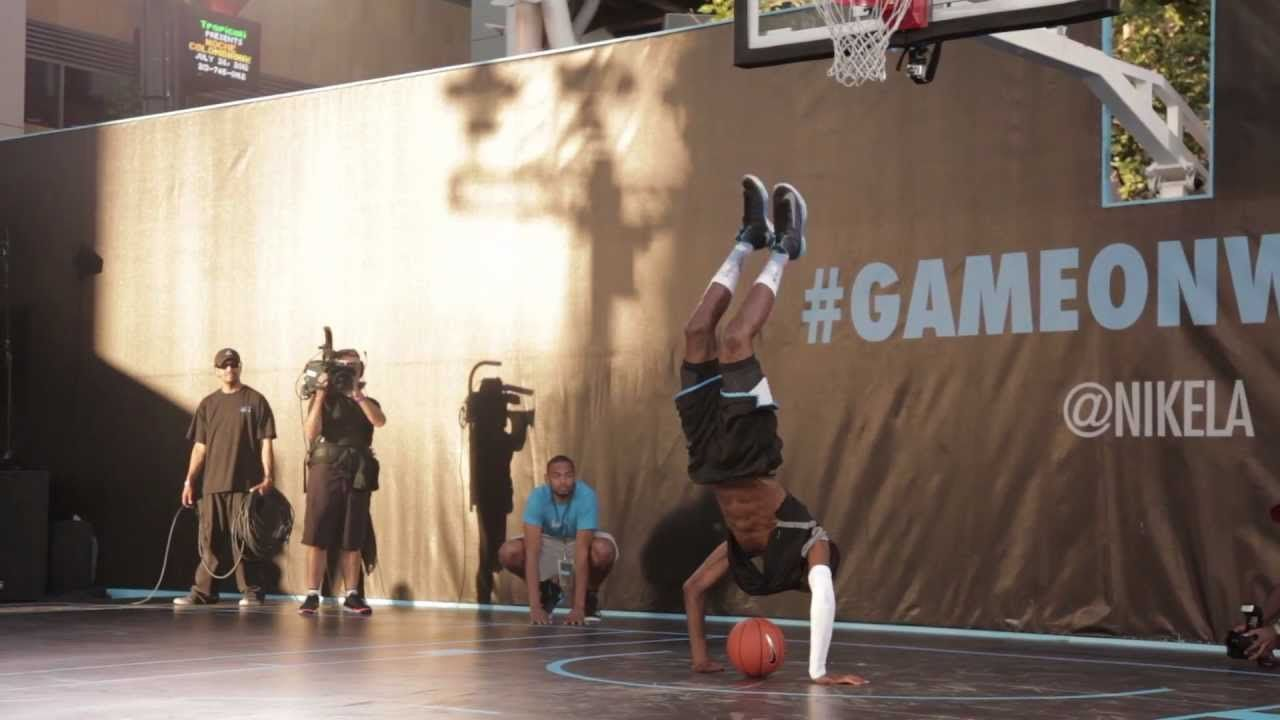 NikePlus HyperDunk Basketball Event