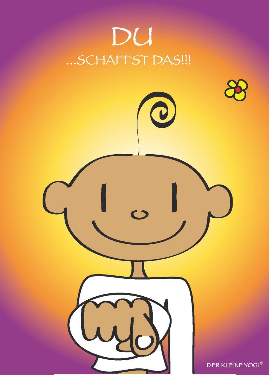 Du Schaffst Das Too Cute Yoga Meditation Und You Are Wonderful