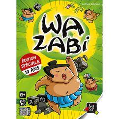 jeu de société WAZABI : VERSION ANNIVERSAIRE 10 ANS | Jeux de société, Jeux d ambiance, Idée de jeux