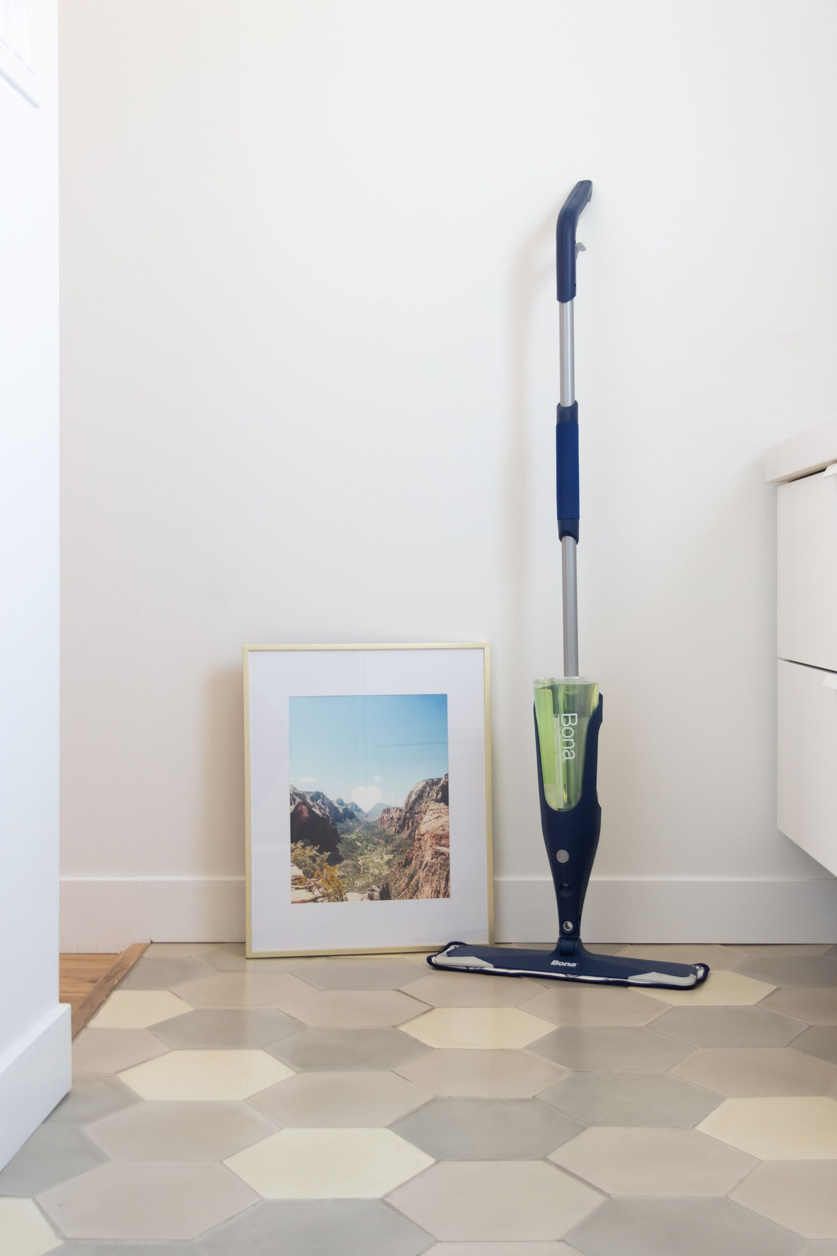 Next Generation Style Requires A Next Generation Mop Https Us Bona Com Products Bona Premium Spray Mop For Stone Spray Mops Waterproofing Basement Flooring