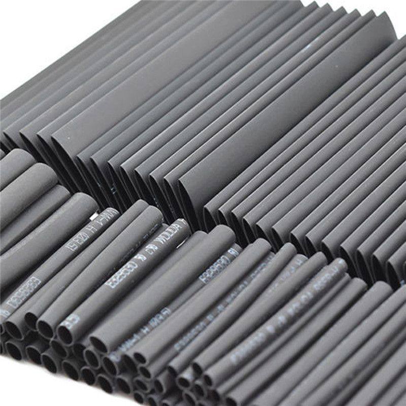 127pc Heat Shrink Tubing Sleeving Assortment Electrical Wire Insulation Sleeves