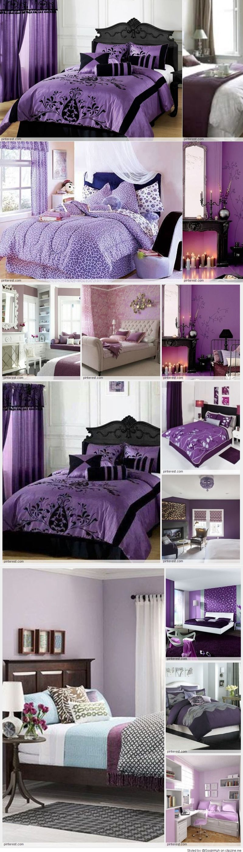 Purple Bedroom Decorating Ideas Clipzine Pages Pinterest Purple Bedrooms Bedrooms And