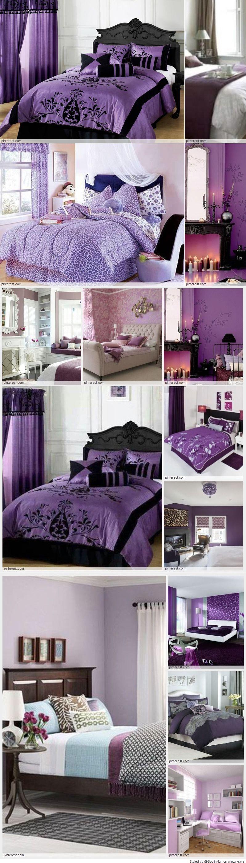 Purple Bedroom Decorating Ideas Bedroom Redo Ideas