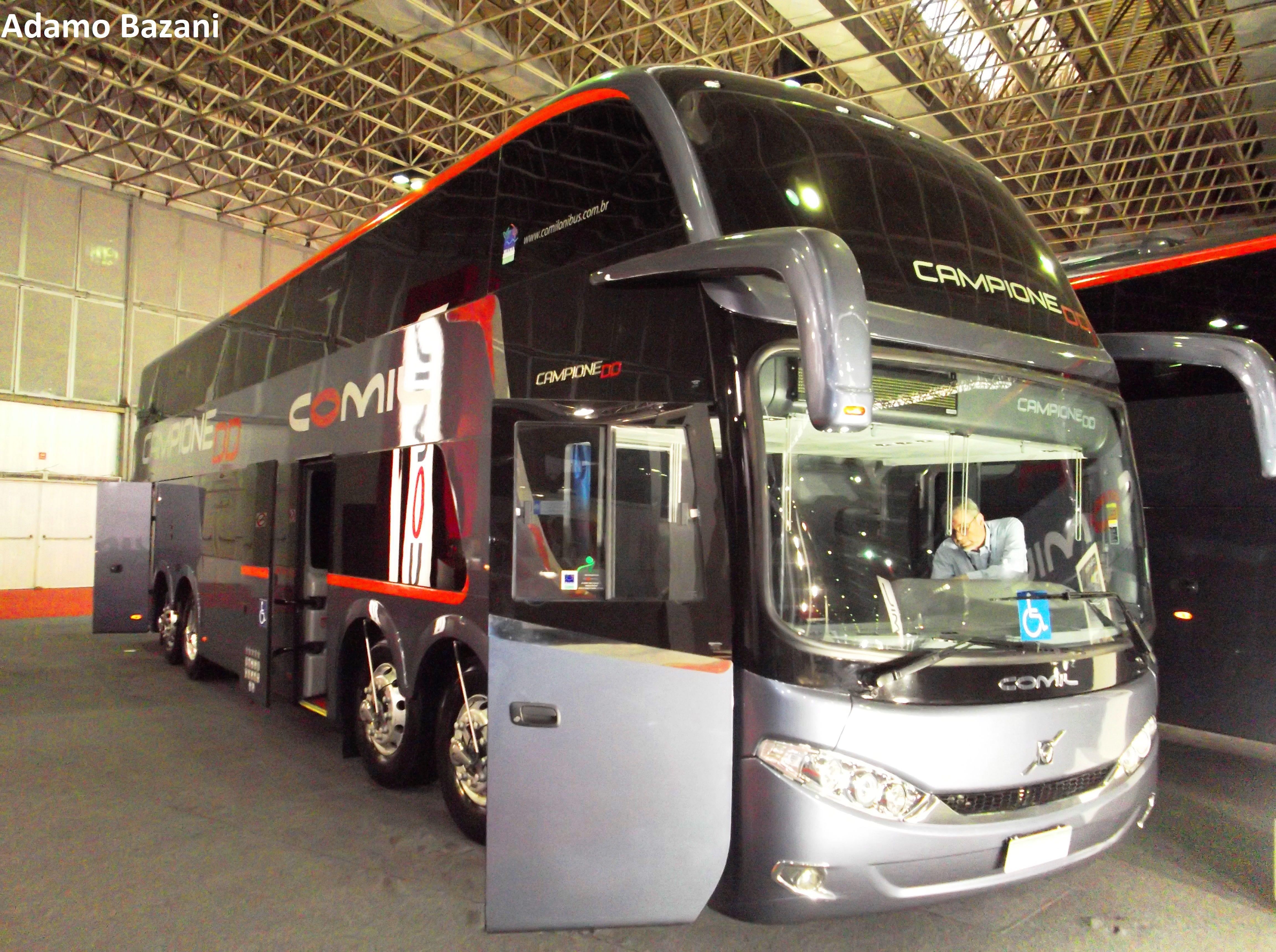 Coach Comil Campione DD   Projeto quer regulamentar ônibus de dois andares no Brasil https://blogpontodeonibus.wordpress.com/2015/01/07/projeto-quer-regulamentar-onibus-de-dois-andares-no-brasil/