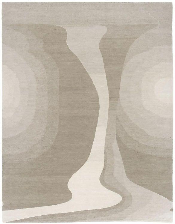 Creeks Fog Himalayan Wool Rugs Carpets Modern Home