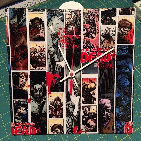 The Walking Dead Wall Clock - 10\