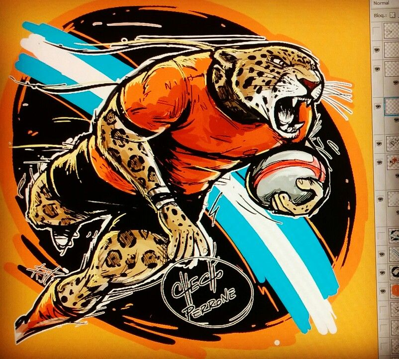 Jaguares Kevingston Rugby Argentina Checho Perrone Ilustraciones Rugby Pumas Kevingston