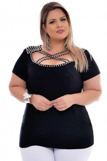 cb044e551 Blusa Plus Size Party | Killer Curves | Plus size, Fashion, Moda