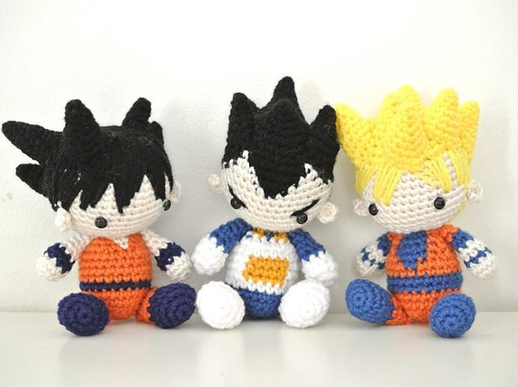 Crochet Amigurumi Dragon : Dragon ball z amigurumis crochet amigurumi