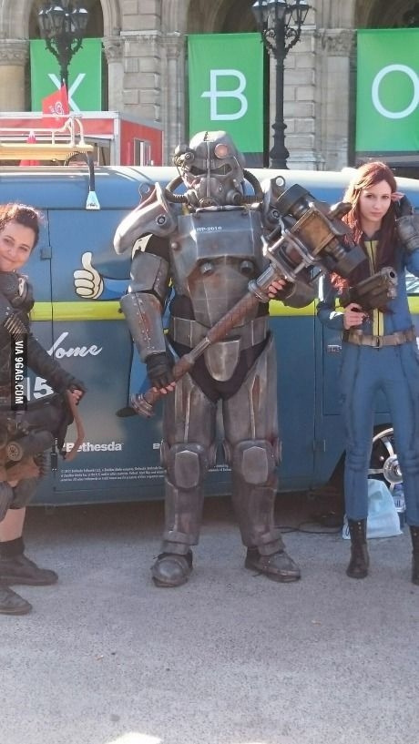 That's so sick man! (Game City Vienna 2015) Can't wait for Fallout 4