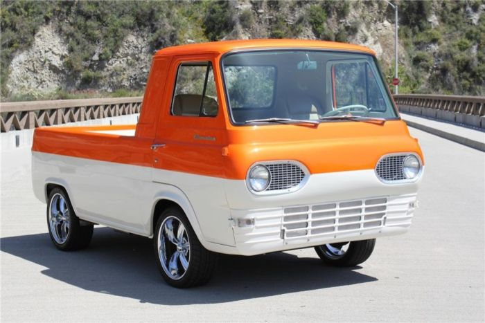 1962 Ford Econoline Custom Pickup Classic Cars Trucks Vintage