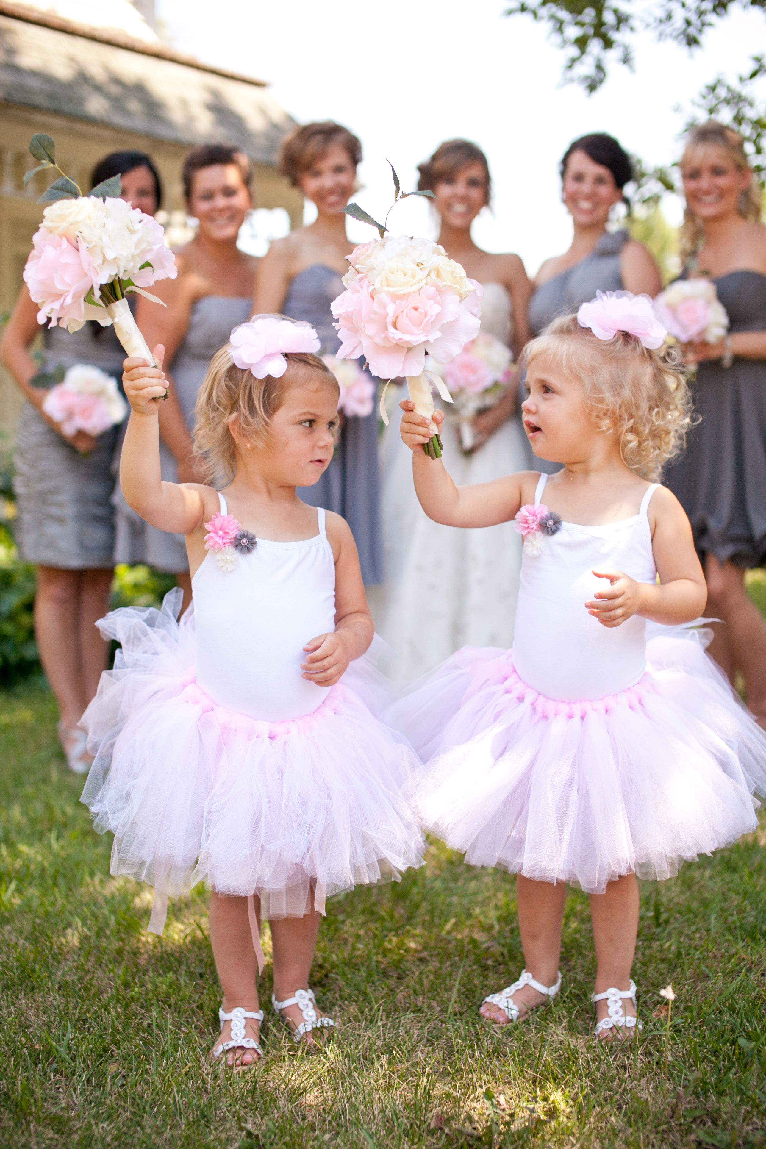 Twin Flower Girl Dresses