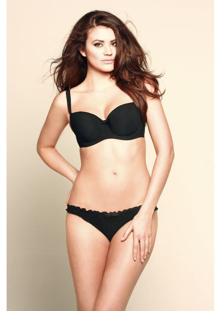 2050f181f9 Miss Mandalay Sejal Black Balconette Bra - RRP £45.00