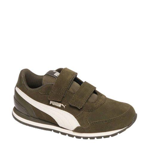 Puma ST Runner suède sneakers groen - Nieuwe mode, Groen en ...