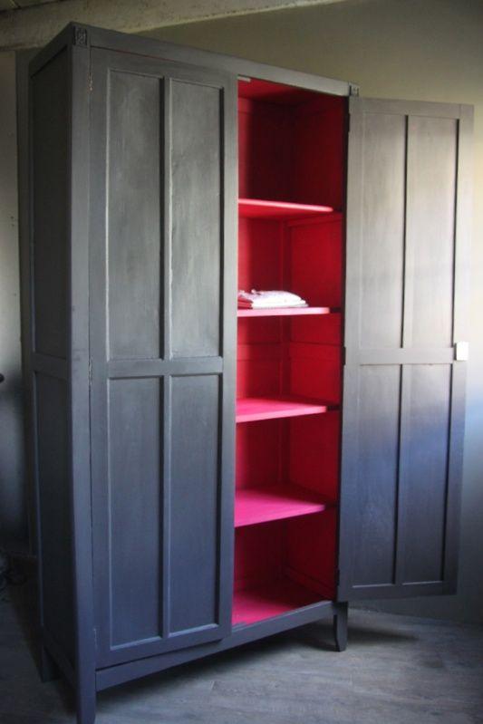 Elise l'armoire parisienne colorée - petite belette . . .    I could sure use this!!!