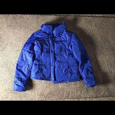 Old Navy Medium Royal Blue Puffer Coat