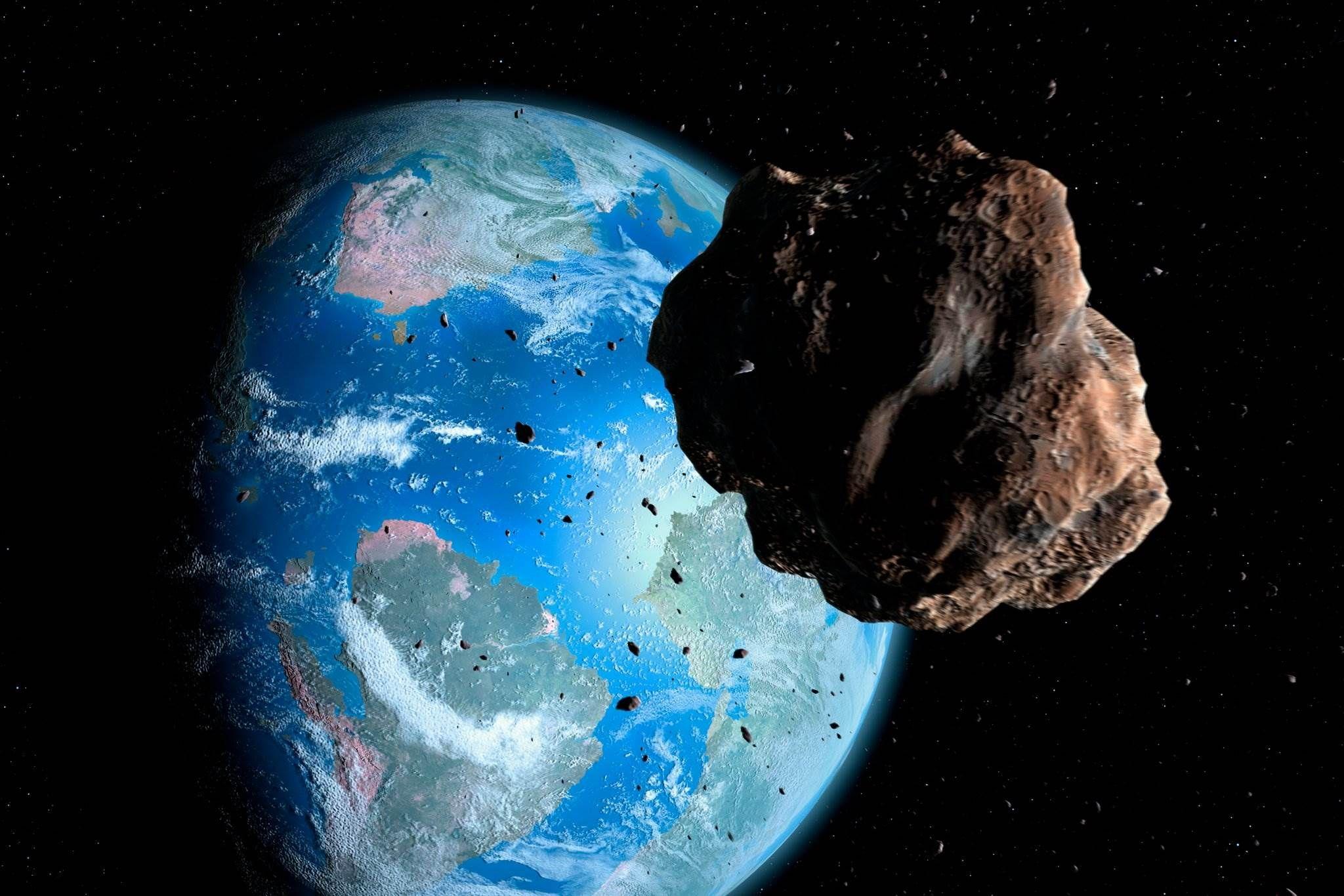 وكالة ناسا تحذر Space Rock Earth Dinosaur