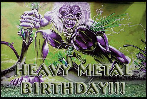 Картинки с днем рождения хеви метал
