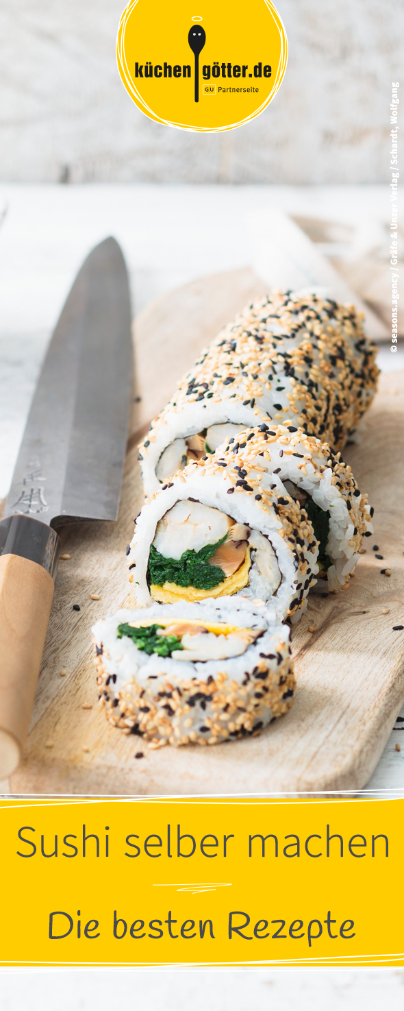 Photo of Make sushi yourself – recipes for maki, nigiri & co.