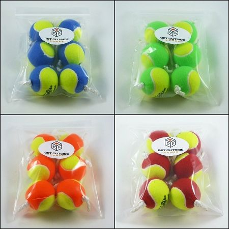 4 Colors Now Available Texas Toss Ball Kit Tennis Ball Throwing