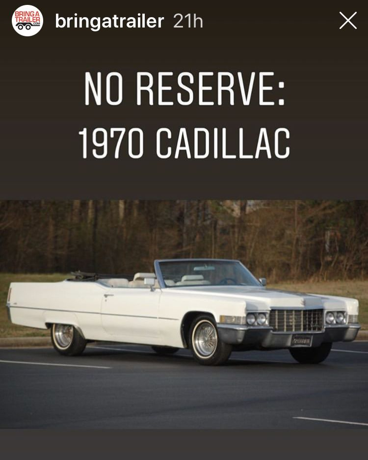 Pin On 1970 Cadillac DeVille Convertible