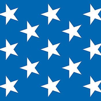 This Patriotic Stars Backdrop Shows Of The White Stars On A Fantastically Blue Background 4 X 30 Stars Wall Decor Patriotic Stars American Flag Wall Decor