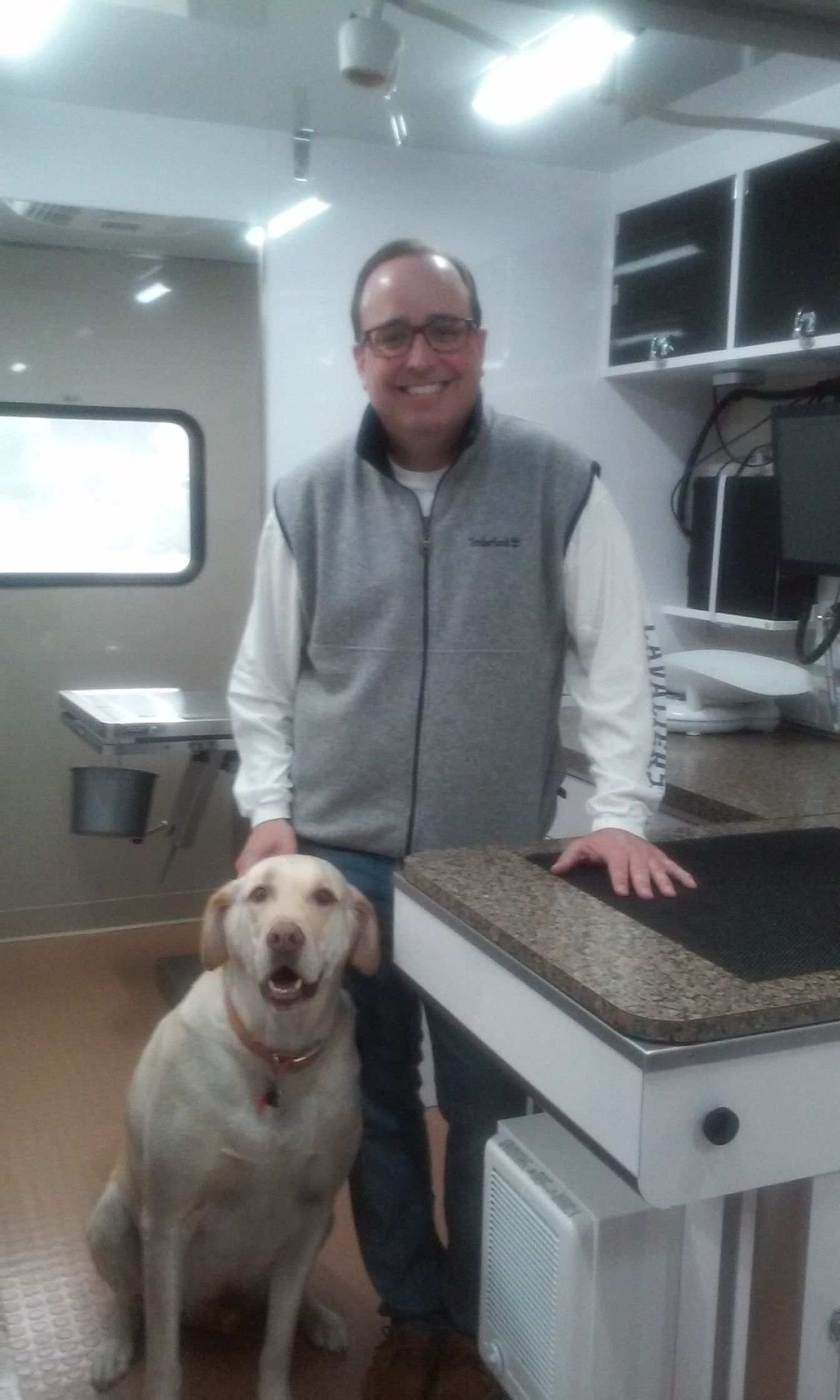 Dr. Mims and The MobileCare Veterinary Team, had a great