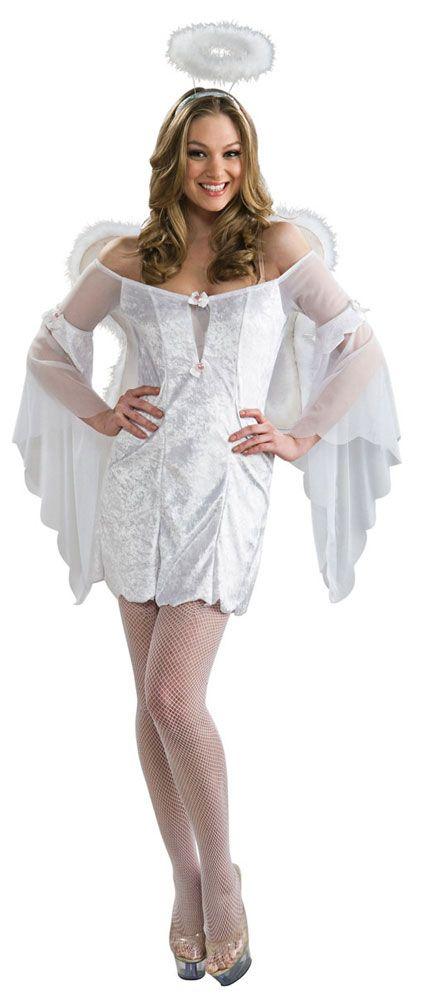 Фото дивидуалки в костюме ангела