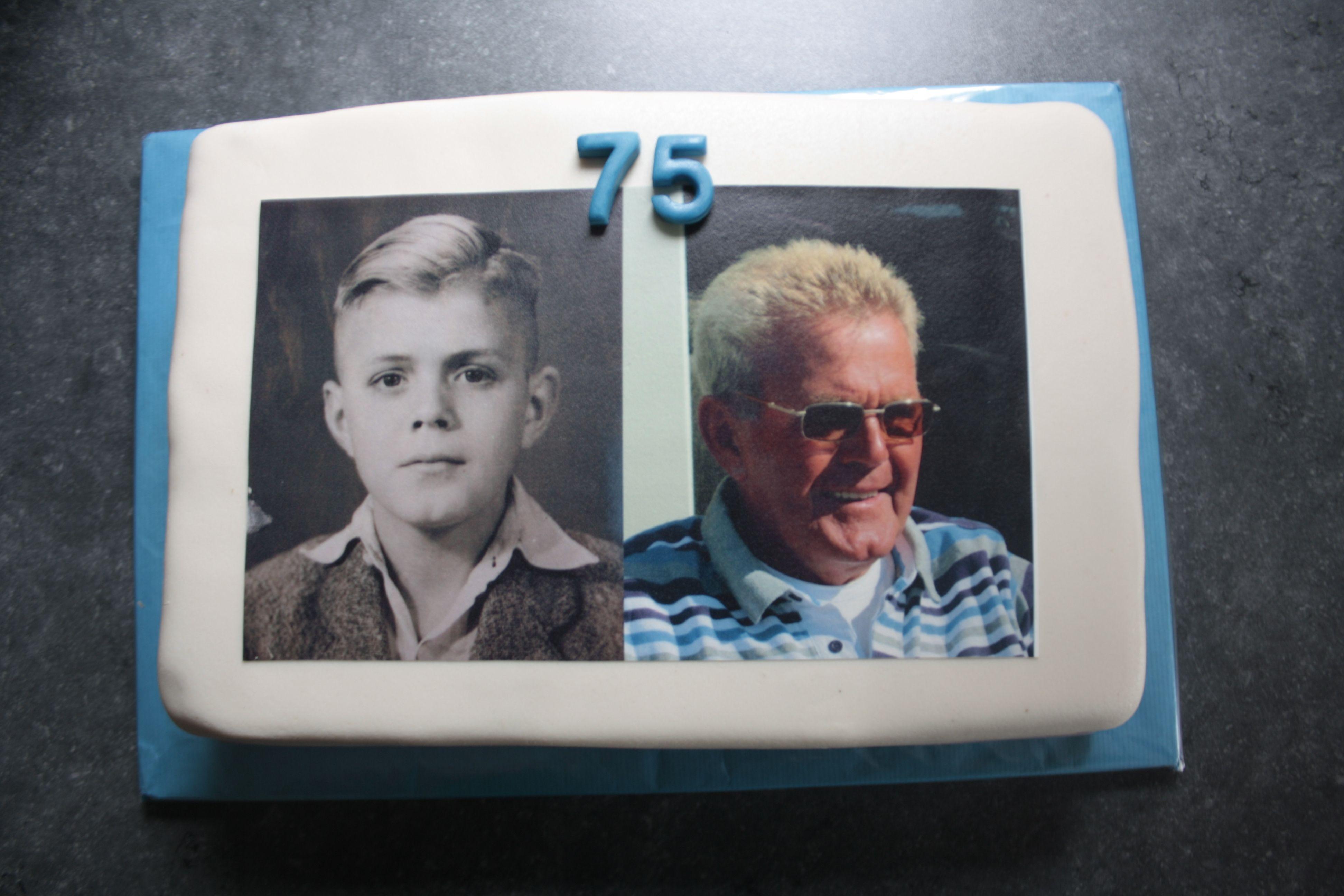 Verjaardagstaart papa augustus 2014