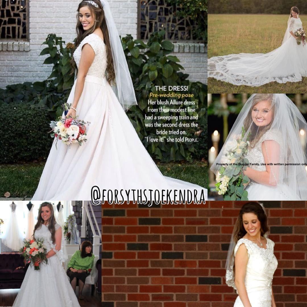 44f66667df0a All The Duggar Wedding Dresses - raveitsafe
