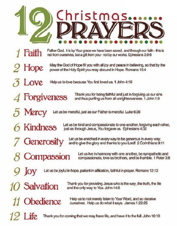 image result for christmas blessing prayer catholic