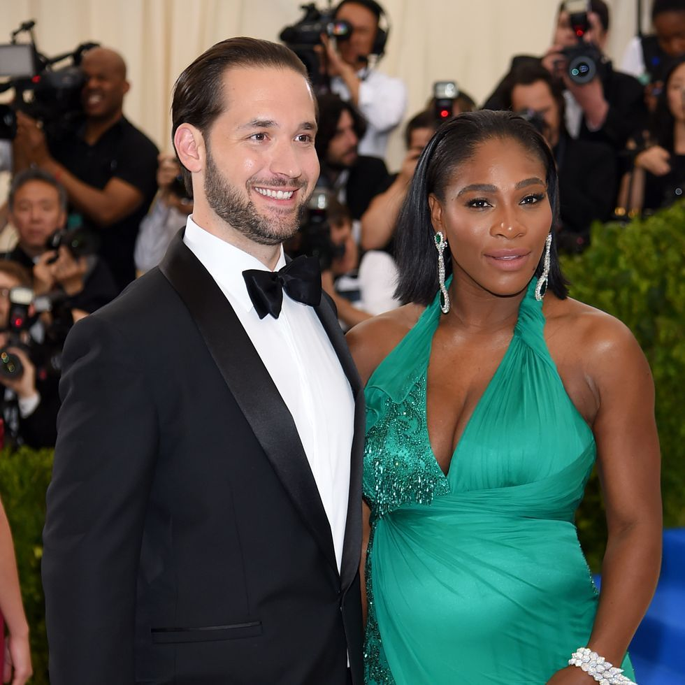 Watch Alexis Ohanian and Serena Williams Discuss His