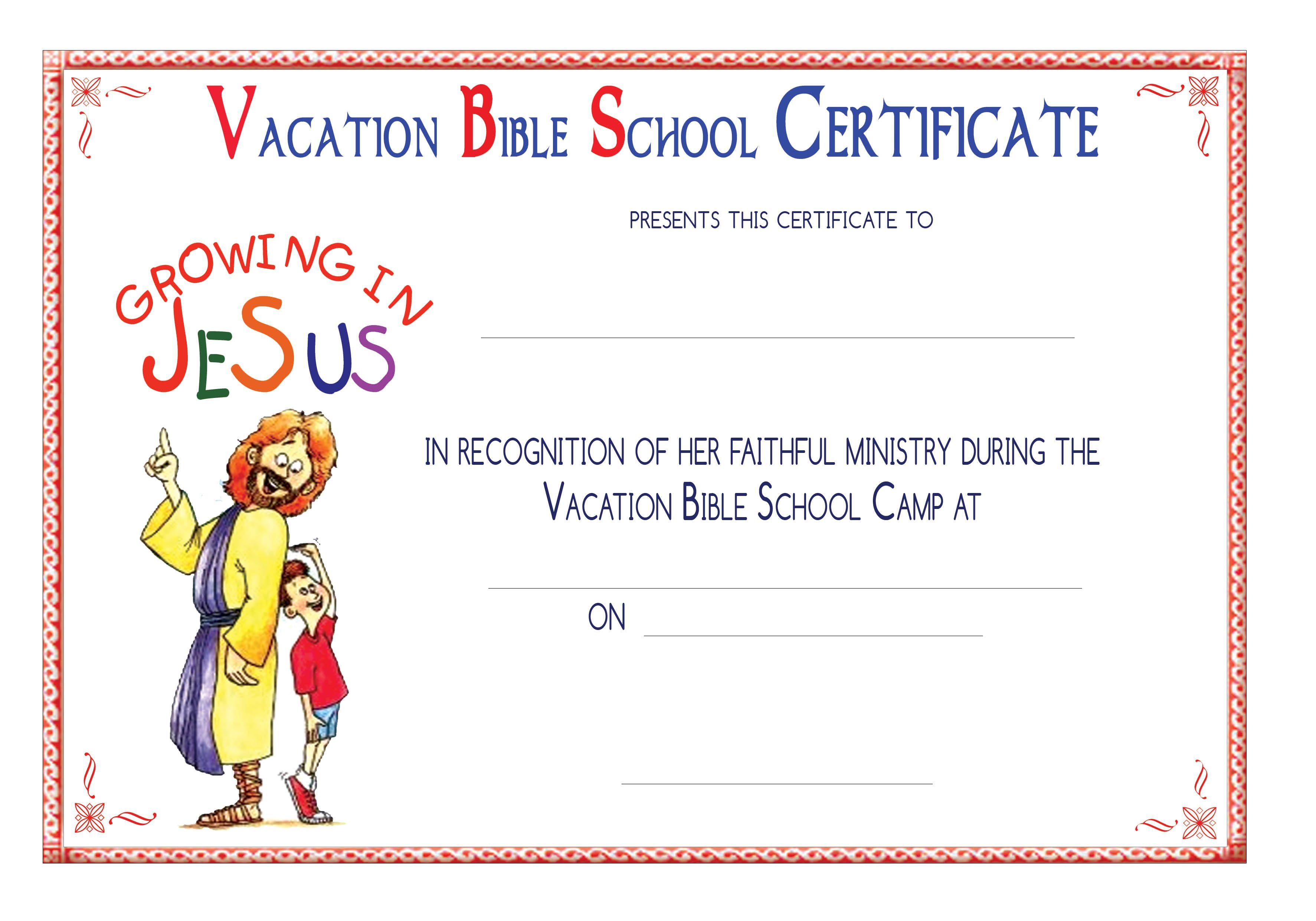 Vbs Certificate Templatesencephalos