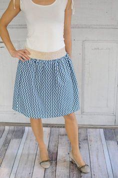 Coser la falda sin patrón de costura – patrón libre | revista Snaply