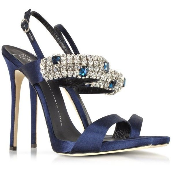 Giuseppe Zanotti Designer Shoes Navy