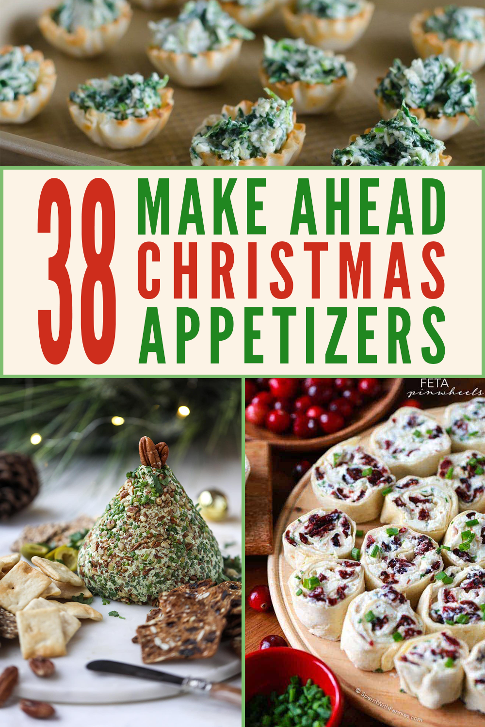 Photo of 37 Delicious and Easy Make-Ahead Christmas Appetizers – Edit + Nest