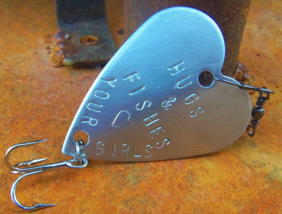 Hugs And Fishes Father Daughter Gift Fishing By CandTCustomLures 1700
