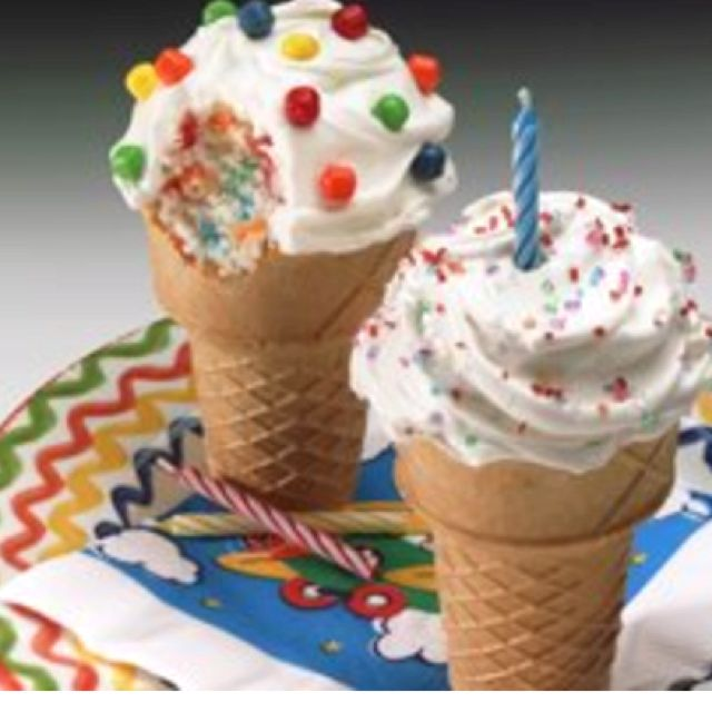Def wanna make these for Easter this year!! Looks fun and easy!  http://m.bettycrocker.com/recipes/ice-cream-cone-cakes/9794e27f-63a9-4e2a-b1ed-b766b3ab9b7f